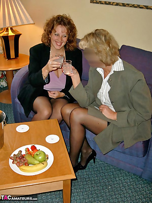 Sometimes business meetings can get a bit 'hot' if it's the end of the working day and you can mix it with a bit of plea