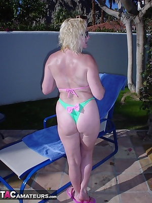 Here I am back home relaxing my pink lingerie and another pair of white boots. I don't know why but the site of me in wh