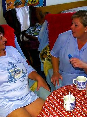Chubby grandma loves the treatment of her younger girlfriend