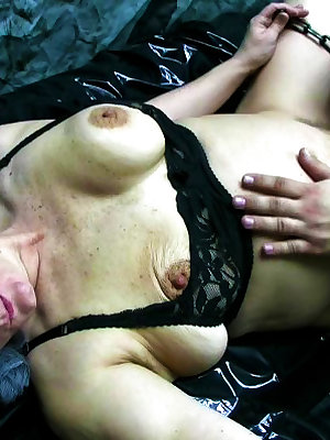Threesome loving older women having fun