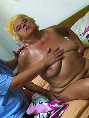 Horny mature lesbos getting their pussies wet
