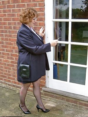 Like all good secretary's you have to dress the part as presentation is important. You also have to drop your drawers an