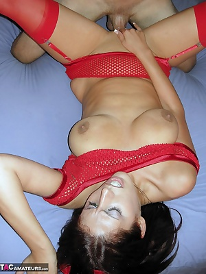 Kane couldnt resist me in my little red devil outfit. I only have to touch his hard cock with my mouth before he bends m
