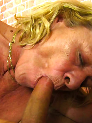 Horny grannies addicted to sex
