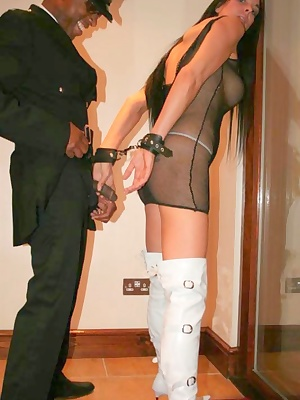 Its a fair cop. But this guy makes me to suck on his huge black cock. Secretely I loved every minute of it