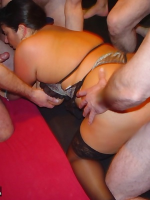 Hello guys, I have a new horny update for you. Cum into my site and look at this picture set as.8 guys visit my gangbang
