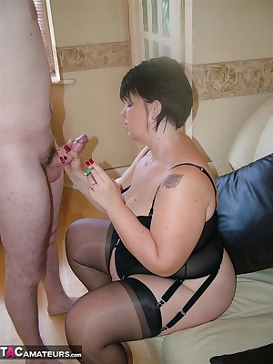 Photos from the video shoot I recently did sucking on a nice meaty cock as well as smoking my cigarette. Even SpunkySam