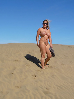 I like to go on holidays. I always try to be nude then whenever it's possible. The canaries are the ideal location to do