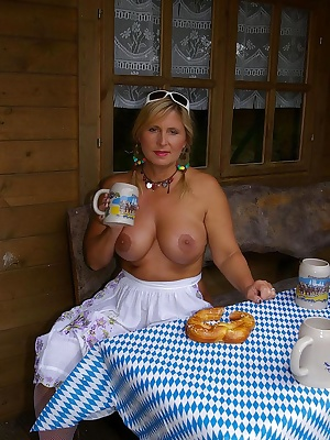 I am celebrating my own octoberfest. I wear my dirndl, I am drinking bear and I am tasting a brezel. But very soon the d