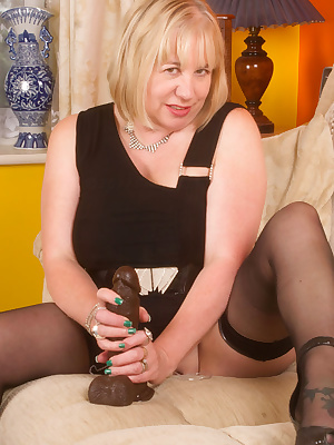 Hi Guys, Hope you like my New Little Black Dress, nothing on underneath as you would expect, but look what I had by the