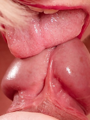 Hi Guys, Daves Stiff Cock was Oozing Precum and I just couldnt get enough of it, but it wasnt long before his tongue was