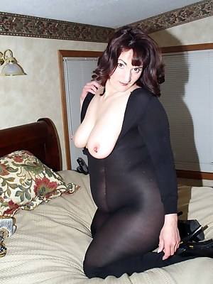 The body stocking was a gift from a fan. I have an animal shift I like a lot so I put them together. I wore it all out o