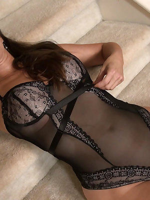 Big boobs and lingerie is beautifull combination for best pleasure.