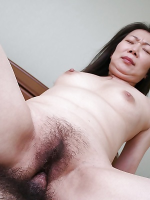 Gorgeous mature Yoshiko Makihara is fucked hardcore in her tight ass