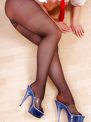 Sailor in pantyhose