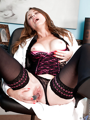 Naughty mature doctor