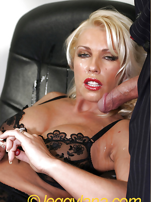 MILF secretary takes a facial