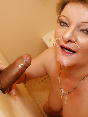 This big mama loves her cock warm and hard