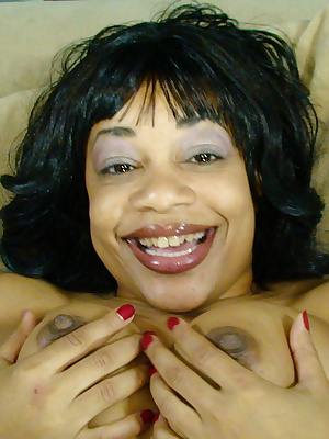 Ebony MILF sucking a big hard cock