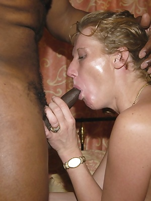 This horny housewife loves a big black cock